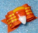 5/8 or 7/8 2 loop AUTUMN CANDY CORN +
