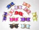 12 PACK 3/8 LITTLE JEWELS  DOG BOWS