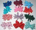 12 PACK XXX-SM KORKIES CURLY DOG BOWS
