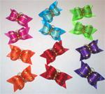 12 PACK 6 PAIRS BRIGHTS FOR POODLE DOG BOWS