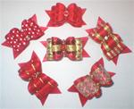 5/8 or 7/8 FUN AND PLAY BOWS GRAB BAG! 6 bows