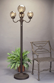 our selection of standing street lights and floor lamps add ambience. Black Bedroom Furniture Sets. Home Design Ideas
