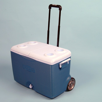 90 Qt Ice Chest On Wheels Arizona Party Rental Sw