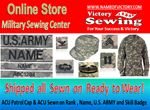 Military Sewing