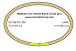 OCP Helmet Band /w Cat Eyes