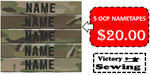 5 OCP Name Tapes