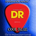DR Cool Blue Coated Electric Guitar Strings