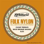 D'Addario Folk Nylon Classical Guitar Strings