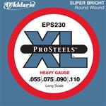 D'Addario XL ProSteel Round Wound Electric Bass Strings