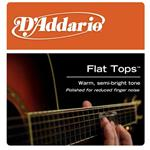 D'Addario 'Flat Tops' Phosphor Bronze Acoustic Guitar Strings