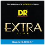 DR Black Beauties Coated Electric Guitar Strings