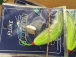 Fluke Rig w/ Spinner and Bucktail (Green)