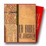 La Bible de Jusalem editions Major en toile Rouge - Hardcover - ( Special Order ) - (Buy 10 or more and get 10% OFF