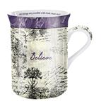 "MUG for all occasions "" Believe with designed """