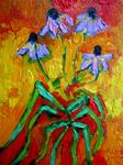 Purple Coneflowers - Sold