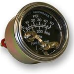 MURPHY OIL PRESSURE GAUGE 50PSI WITH PUSH BUTTON RESET