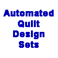 Flying Geese Set -  Automated Quilting Design - RGS025