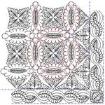 Wedding Ring Feather Set - 21 Automated Quilting Designs - RGS055
