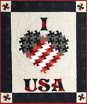 403152 - I Love USA - Wall / Door Hanging 35 in. X 31 in.