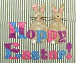 "RGR-P12 - Hoppy Easter – 9 1/4"" x 7 1/2 """