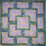 RGR057 - Turning Square Quilt - Wall to King