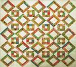 "RGR089 - Charming Honey of a Quilt - 63"" x 63"""