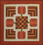 "RGR138 - Pumpking Table Topper - 33"" Square"