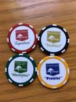 Masterpiece Logo Poker Chips