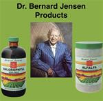 Dr. Bernard Jensen Products