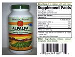 Alfalfa Tablets 550 mg/500 count