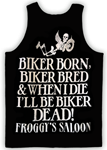 Froggy's Saloon New 2013 Men's Tank - Biker Born