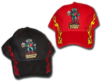 Froggy's Ball Cap - Black or Red