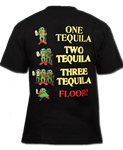 Froggy's Saloon Men's Tequila Frog T-Shirt