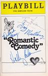 """Romantic Comedy"" - Signed Playbill"
