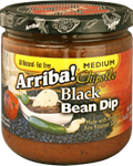 31. Arriba! 16 oz Chipotle Black Bean Dip