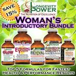 DISCOUNT BUNDLE: Woman's Results Intro (SAVE 15%) (Revival Formula and Everlasting Youth SHIP IN 1-2 WEEKS. Maca Bliss SHIPS IN 1-2 MONTHS)