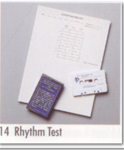 Rhythm Test  (Item # 14)
