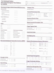 Summary Sheet of Test Scores For Adults (Item # 34A)
