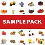 4 Bottles E-Liquid Sampler Pack - Specialty e-Liquids (4 bottles!)