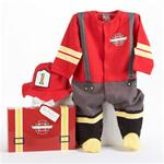 BABY ASPEN BIG DREAMZZZ FIREFIGHTER LAYETTE SET
