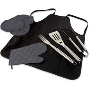 BARBEQUE APRON WITH UTENSILS