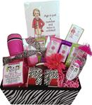 CRANKY LADIES COFFEE BASKET-AGE IS JUST A NUMBER AND MINE IS  UNLISTED-LG