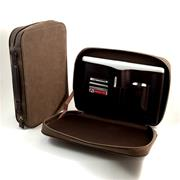 COMPUTER AND ACCESSORIES CARRYING CASE BROWN ULTRA SUEDE