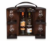 DEVENTRY TWO BOTTLE TRAVEL CASE