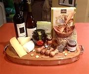 ALL ABOARD-GOURMET GIFT BASKET-CHEESE BOARD
