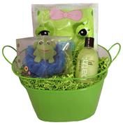 FROG BUBBLE BATH SPA BASKET