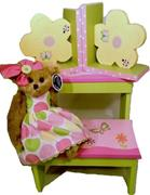 STEPPIN UP-STEPSTOOL GIFT BASKET-BUTTERFLIES