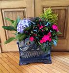 VICTORIAN FLOWER BASKET 2