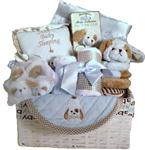 BEARINGTON WAGGLES BABY GIFT BASKET-LARGE