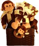 BEARINGTON GIGGLES BABY BASKET (SMALL)